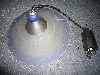 Aro pendant light shimmering blue